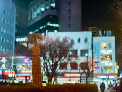2000/1719 (june1777) Tags: snap street alley seoul night light bokeh fujifilm gfx 50r mamiya 645 80mm f19 3200 euljiro winter adcn vin9