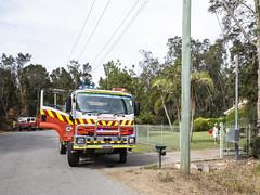 Bushfire - One Mile (vk2gwk - Henk T) Tags: bushfire fire emergency onemile nsw australia
