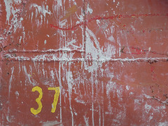37 (vavan) Tags: abstractphotography red numbers 37