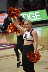 HOKIE HIGH TECHS (SneakinDeacon) Tags: cheerleaders dancers hightechs vatech vt virginiatech cassellcoliseum