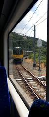Through the window 10-366 (anakiwa_forever) Tags: 3662020 wellington newzealand train