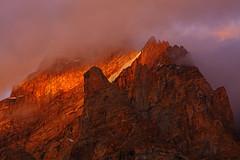 Bullah Peak (Shahid Durrani) Tags: bullah peak karakoram range karakorams pakistan gilgitbaltistan baltistan biafo glacier alpenglow