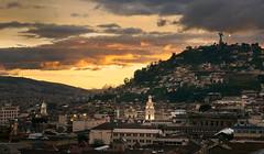 Quito Sunset (szeke) Tags: quito ecuador