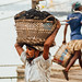 Man Carrying Coal Basket, Dhaka Bangladesh