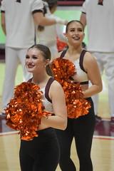 THE HIGH TECHS (SneakinDeacon) Tags: cheerleaders dancers hightechs vatech vt virginiatech cassellcoliseum