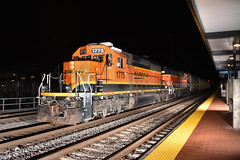 Double Deuces (Robby Gragg) Tags: bnsf sd402 1775 joliet