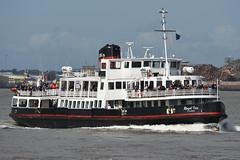 Royal Iris -- Seacombe -- 17-08-19 (MarkP51) Tags: royaliris seacombe rivermersey england ferry ship boat vessel sea water sunshine sunny nikon d7200 nikonafp70300fx