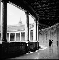 Granada_Hasselblad 500 C/M (ksadjina) Tags: 6x6 9min adoxaph09 adoxchs50 alhambra andalusia carlzeissdistagon40mmf14 granada hasselblad500cm nikonsupercoolscan9000ed palacegeorgev silverfast spain analog blackwhite film scan
