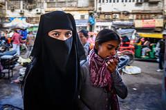 Headscarf (SLpixeLS) Tags: inde portrait newdelhi olddelhi india delhi city market people woman headscarf hijab muslim street streetphotography bazaar