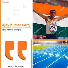 The inspiring story of Ticket checker who creates history in Athletics World! (sanjayintern) Tags: indiantalent athletes runner inspiringstories motivationalstories