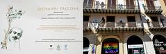 Plaque à la mémoire du juge Falcone et immeuble à Palerme, Sicile, Italie (claude lina) Tags: claudelina italia italie italy sicilia sicile sicily palermo palerme ville town cita architecture giovannifalcone
