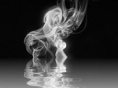 Night Dip, 5/100X (clarkcg photography) Tags: smoke reflection water night dark dip swim smoke2002 2002x 100xthe2020edition 100x2020 image5100 alter change fix sliderssunday
