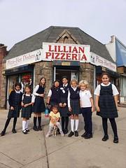 Lunch At Lillian's (Joe Shlabotnik) Tags: everett oliviav october2019 hannahr galaxys9 amina zaara pizzeria pizza violet sophiem cameraphone 2019