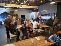 Sunday At Finback (Joe Shlabotnik) Tags: finback brewery jenniferb october2019 maxm queens galaxys9 sue cameraphone teddym violet isabellem 2019 glendale