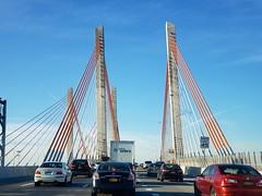 Koscuiuszko Bridge (Joe Shlabotnik) Tags: queens bridge galaxys9 newyorkcity 2019 october2019 nyc brooklyn interstate highway cameraphone