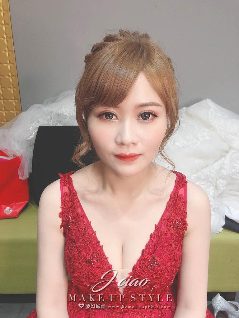 【新秘婕喬】bride瑋廷 訂結婚造型 / 韓系仙女風