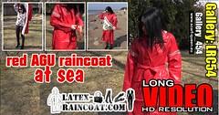 GalleryLRC54 (Tamara silkscarf) Tags: rainwear raincoat rainclothes vintagerainwear regenjacke regenjas agu agusport aguraincoat scarfqueen womenraincoat girlsraincoat
