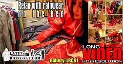 GalleryLRC61 (Tamara silkscarf) Tags: rainwear raincoat rainclothes vintagerainwear regenjacke regenjas agu agusport aguraincoat scarfqueen womenraincoat girlsraincoat