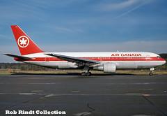 Air Canada B767-233/ER C-GAVF (planepixbyrob) Tags: aircanada canada boeing 767 767200 cgavf zrh zurich kloten retro kodachrome