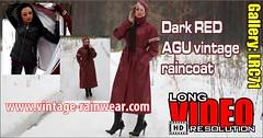 GalleryLRC71 (Tamara silkscarf) Tags: rainwear raincoat rainclothes vintagerainwear regenjacke regenjas agu agusport aguraincoat scarfqueen womenraincoat girlsraincoat