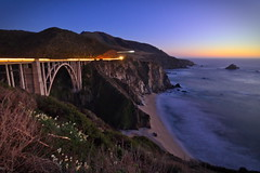 California classic (BorrowedLightPhoto) Tags: bixbybridge californiacoast pacificcoast california beach