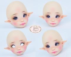Atelier Momoni Somni NS. ( 1/8 head ) (♥..Nomyens..♥) Tags: bjd balljointdoll toy doll custom faceup paint painting painted repaint handmade nomyens nomyenscom atelier momoni tinydoll