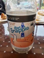 Long Island Snapple (Joe Shlabotnik) Tags: galaxys9 2019 snapple october2019 lighthouse bottle duck cameraphone bigduck
