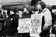 No Pipelines (tyson_laidler) Tags: victoriabc doublex eastman5222 35mm analog monochrome moviefilm cinema demonstration legislature britishcolumbia canada