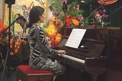 Zoe Rahman Trio (2020) 01 - Zoe Rahman (KM's Live Music shots) Tags: jazz greatbritain zoerahman uprightpiano piano eastsidejazzclub leytonstoneexservicemensclub
