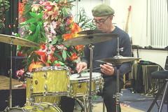 Zoe Rahman Trio (2020) 03 - Gene Calderazzo (KM's Live Music shots) Tags: jazz unitesstates genecalderazzo zoerahman drumkit drums eastsidejazzclub leytonstoneexservicemensclub