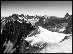 la cordée (pileath) Tags: montagne snow neigne alpinisme pic du midi bw alpinistes