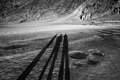 Shadow People (ROSS HONG KONG) Tags: shadow shadows basin desert park nationalpark death valley deathvalley deathvalleynationalpark badwater black white blackandwhite bw leica monochrom 21mm blanc noir monochrome