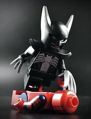 Symbiote Wolverine (theoctopirate_customs) Tags: lego marvel spiderman xmen wolverine venom logan purist custom minifigure afol