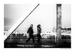 """""""Dans Les Traces Du Poulpe Ou Pour L'Attendrir Faut Taper Dessus... 41"""" (TBWLC Photography) Tags: fdrouet tbwlc nb bw monochrome street saintnazaire penhoët nikon d750"""