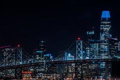 salesforce point (pbo31) Tags: eastbay alamedacounty california night dark color nikon d810 january 2020 boury pbo31 portofoakland sanfrancisco city skyline salesforce baybridge 80 oakland