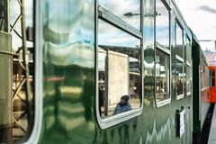 Reflection Zone (*Capture the Moment*) Tags: 2019 dampflok december dezember fotowalk munich münchen nikolauszug sonya7m2 sonya7mii sonya7mark2 sonya7ii sonyilce7m2 steamengine steamtrain train
