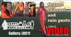 GalleryLRC11 (Tamara silkscarf) Tags: rainwear raincoat rainclothes vintagerainwear regenjacke regenjas agu agusport aguraincoat scarfqueen