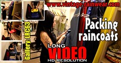 GalleryLRC63 (Tamara silkscarf) Tags: rainwear raincoat rainclothes vintagerainwear regenjacke regenjas agu agusport aguraincoat scarfqueen womenraincoat girlsraincoat