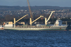 Anne-Sofie -- Rosyth -- 12-01-20 (MarkP51) Tags: annesofie rosyth scotland heavy lift generalcargo ship boat vessel sea water sunshine sunny nikon d500 nikon200500f56vr