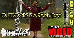 GalleryLRC32 (Tamara silkscarf) Tags: rainwear raincoat rainclothes vintagerainwear regenjacke regenjas agu agusport aguraincoat scarfqueen womenraincoat girlsraincoat
