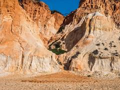 Coastal erosion (alanrharris53) Tags: falesia beach sand sandstone erosion coastal colour algarve portugal