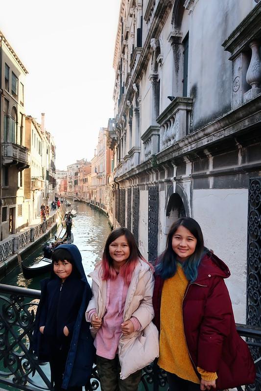 Venice, Italy and Ava's 13th birthday
