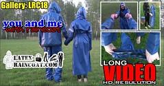 GalleryLRC18 (Tamara silkscarf) Tags: rainwear raincoat rainclothes vintagerainwear regenjacke regenjas agu agusport aguraincoat scarfqueen womenraincoat girlsraincoat