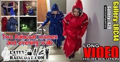 GalleryLRC44 (Tamara silkscarf) Tags: rainwear raincoat rainclothes vintagerainwear regenjacke regenjas agu agusport aguraincoat scarfqueen womenraincoat girlsraincoat