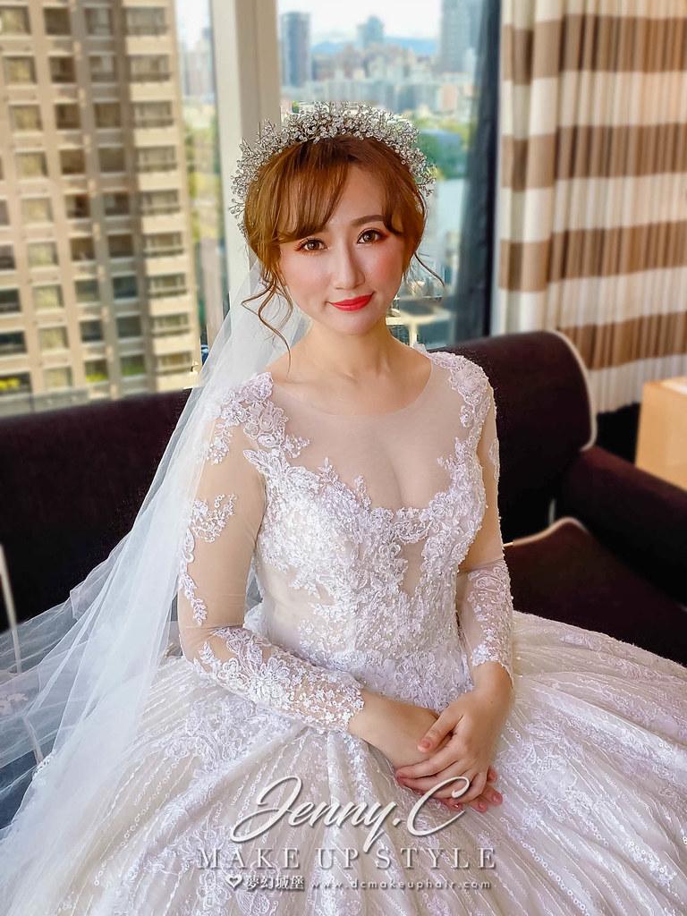 【新秘蓁妮】bride 律曲 訂結婚造型 / 唯美仙女