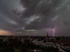Cathedral Lightning (Joel Bramley) Tags: cathedral bendigo storm weather lightning clouds church