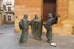 Escultura del Misteri d´Elx-Escena Del Ternari.(Escultor Miguel Ruiz- Elche (Alicante) (lameato feliz) Tags: elche alicante misteriodeelche patrimoniodelahumanidad escultura miguelruizescultor