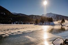 Davosersee (UpuautX) Tags: fujifilm xt3 lake ice schweiz switzerland frozen davos kit eis graubünden davosersee schwarzeis xf1855mm
