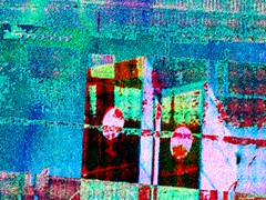 double zero (fibreman) Tags: uk abstract art strange digital manchester weird trippy psychedelic distortion blur colour composite 3d distorted fuzzy lofi dream layer dreamy layers nightmare colourful fuzz layered psychosis blue lines manipulated photography artistic decay acid creative manipulation photographic melted decayed autism overload treatment autistic sensory green recycled erosion 8bit dots dominoes eroded reduction
