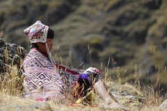 Peruvian boy in the Andes (feijeriemersma) Tags: peru andes boy south america peruvian kid child colourful people person alone cloth clothing americas first nation indian indigenous